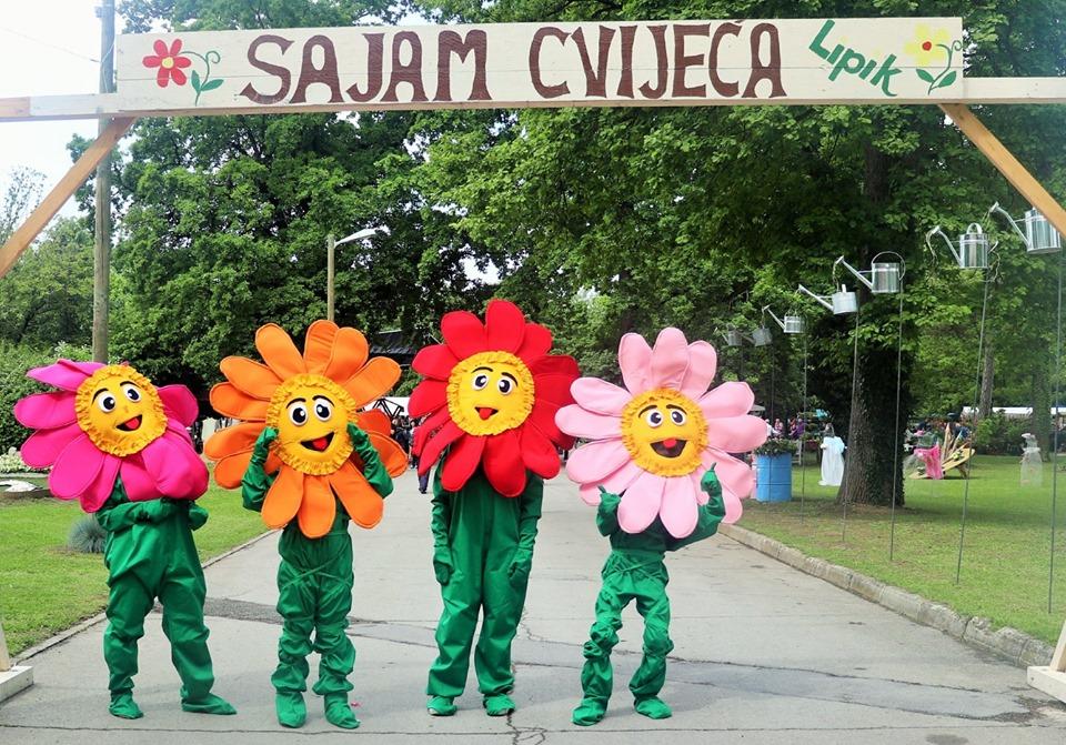 Šarenilo Sajma cvijeća privuklo nekoliko tisuća posjetitelja