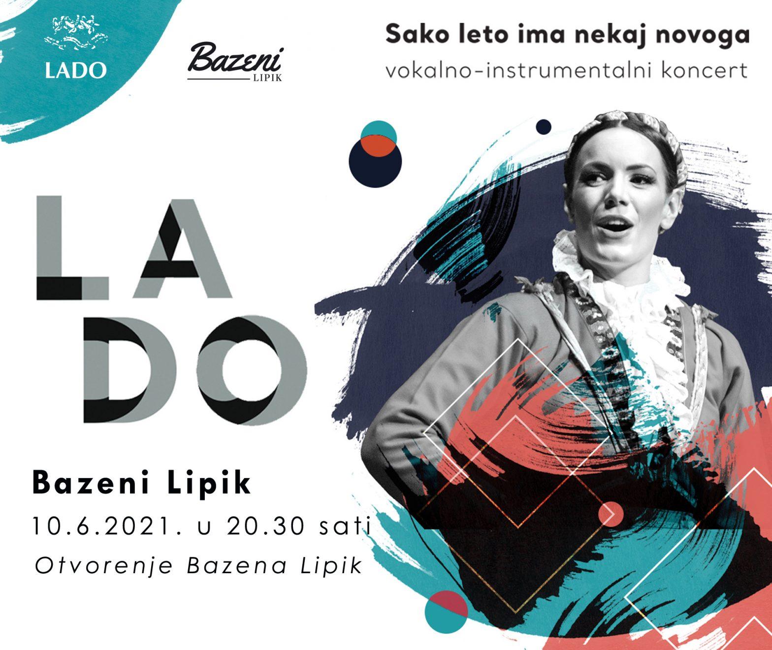 Prigodom otvorenja lipičkih bazena publika će uživati u nastupu vokalnog Ansambla LADO